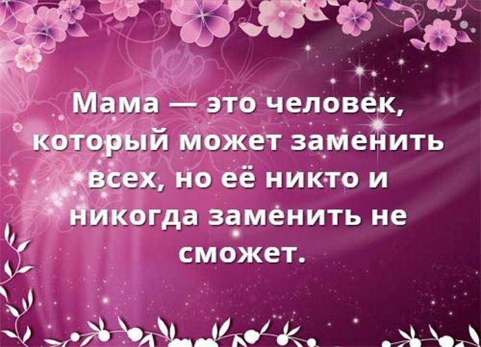 Статусы про маму красивые поздравления
